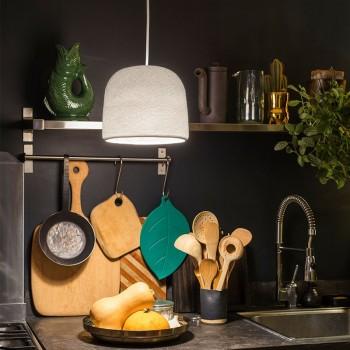 Lampenschirme Einzeln Glocke Weiβ - Lampenschirm cloche - La Case de Cousin Paul