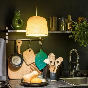 Lampenschirme Einzeln Glocke Gelb - Lampenschirm cloche - La Case de Cousin Paul