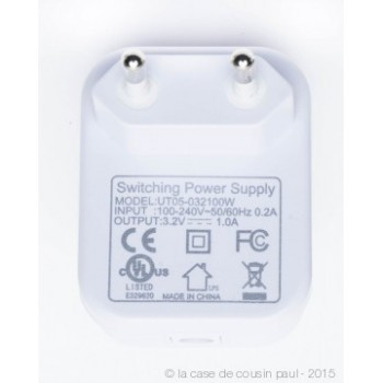 Girlande Premium mit 20 LEDs, Weiβ Kabel CE - Premium zubehör - La Case de Cousin Paul