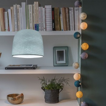 Cloche azure - Lampshades cloche - La Case de Cousin Paul