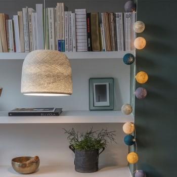 Lampenschirme Einzeln Glocke Perlgrau - Lampenschirm Glocke - La Case de Cousin Paul