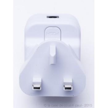 Premium slinger met 20 LED-lampjes transparant UK snoer - Premium toebehoren - La Case de Cousin Paul