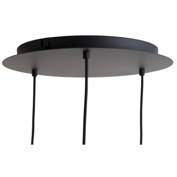 Plafondbevestiging 3 mat antraciet - Accessoires voor verlichting - La Case de Cousin Paul