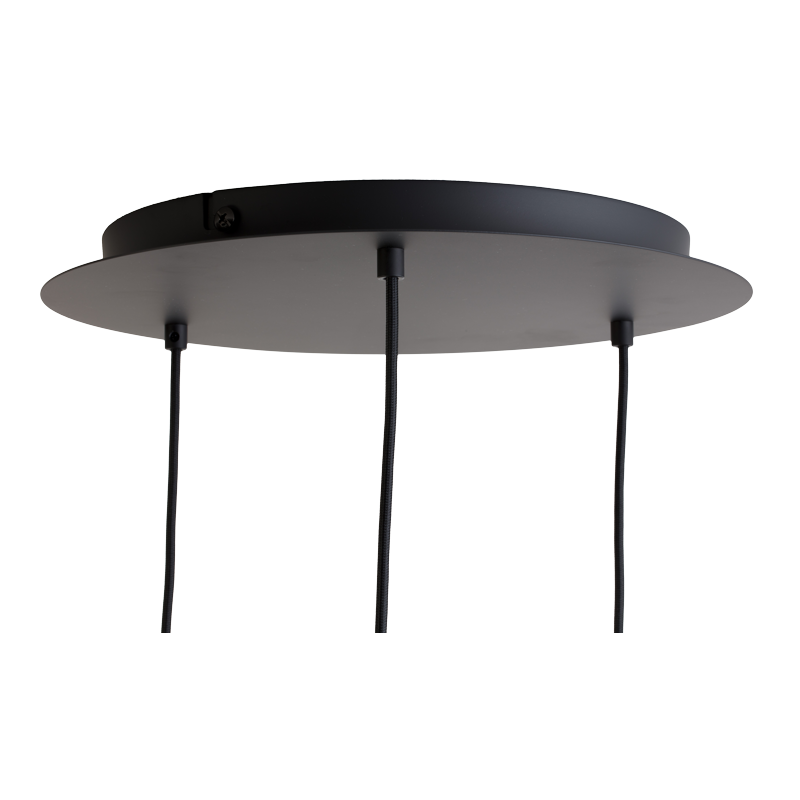 Ceiling fixture 3 Matte anthracite grey