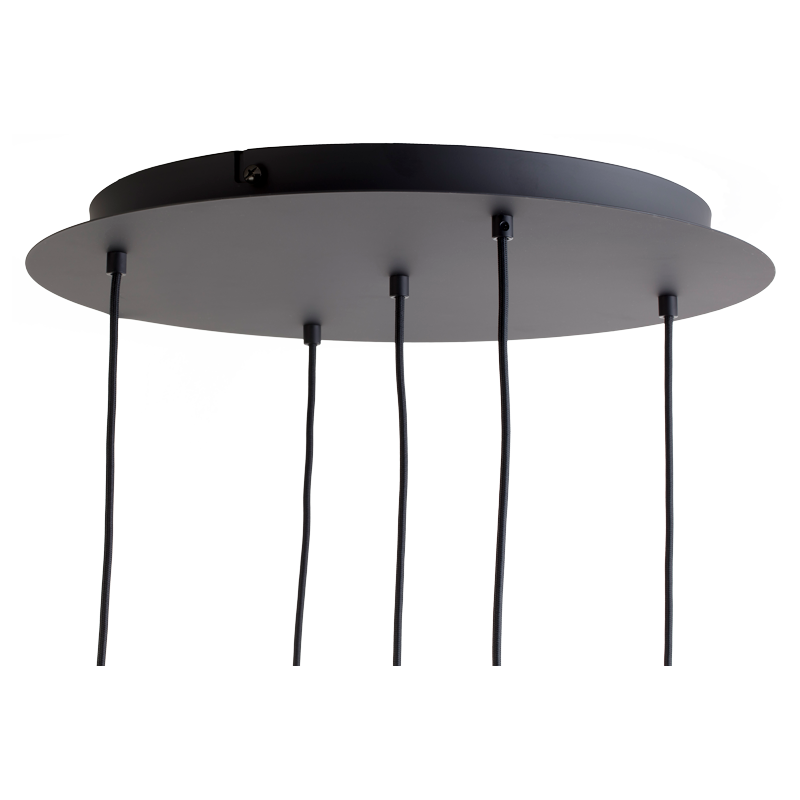 Ceiling fixture 5 Matte anthracite grey - Lights accessories - La Case de Cousin Paul