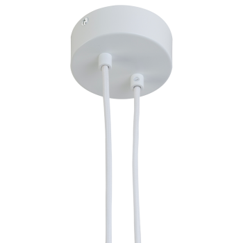 Hanging fixture 2 matte white - Lights accessories - La Case de Cousin Paul