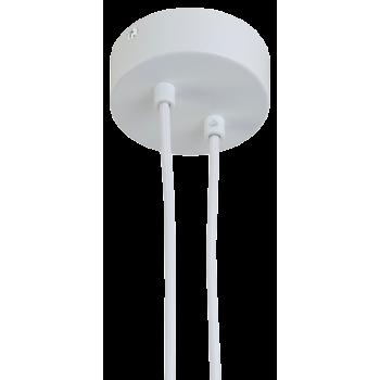 Attacco a sospensione 2 bianco opaco - Accessori per lampadari - La Case de Cousin Paul