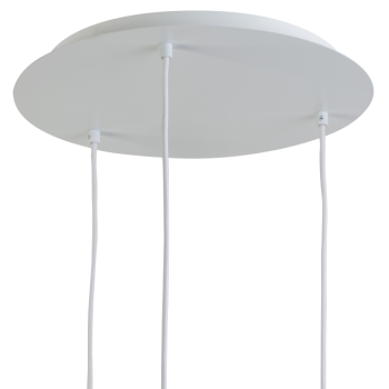 Ceiling fixture 3 matte white - Lights accessories - La Case de Cousin Paul