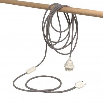 La suspension nomade chinée pastel - Accessoires luminaires - La Case de Cousin Paul
