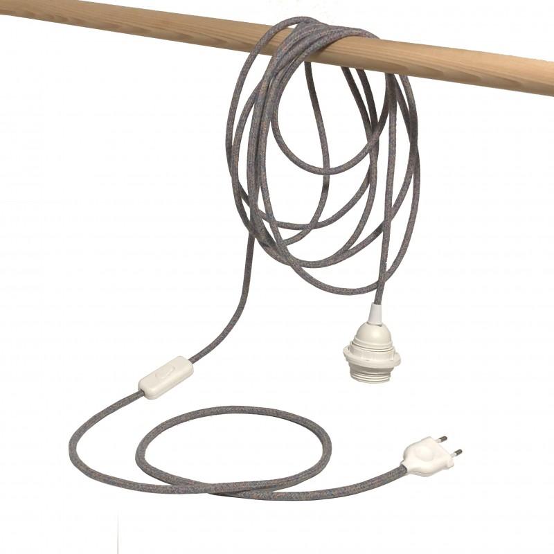 """Mobile hanging fixture """"chinée pastel"""" - Lights accessories - La Case de Cousin Paul"""