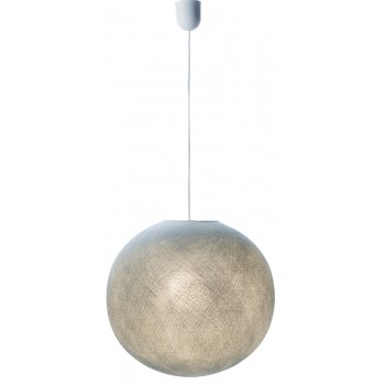 enkelvoudig ophangsysteem van wit plastic snoer - Accessoires voor verlichting - La Case de Cousin Paul