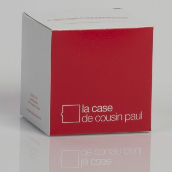 single hanging fixture red braided cord - Lights accessories - La Case de Cousin Paul