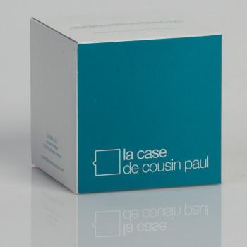 Einfache Aufhängung mit türkisfarbenem Textilgeflechtkabel - Die Zuberhör für Leuchten - La Case de Cousin Paul