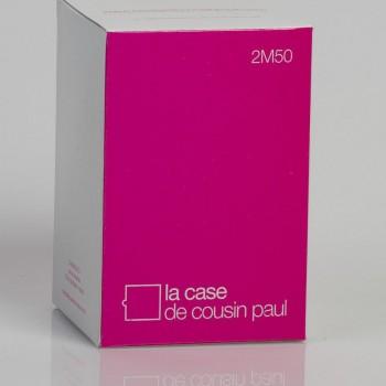 enkelvoudig ophangsysteem van wit geweven snoer, 250 cm - Accessoires voor verlichting - La Case de Cousin Paul