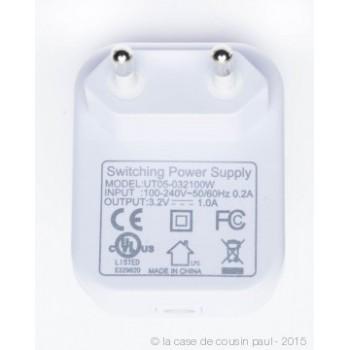 Premium string lights with 50 LED bulbs with CE white cable - Premium accessories - La Case de Cousin Paul