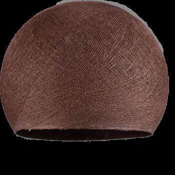 Lampenschirme Einzeln Kuppeln Schokolade - Lampenschirm Kuppel  - La Case de Cousin Paul