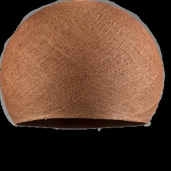 Lampenschirme Einzeln Kuppeln Kupferbraun - Lampenschirm kuppeln - La Case de Cousin Paul