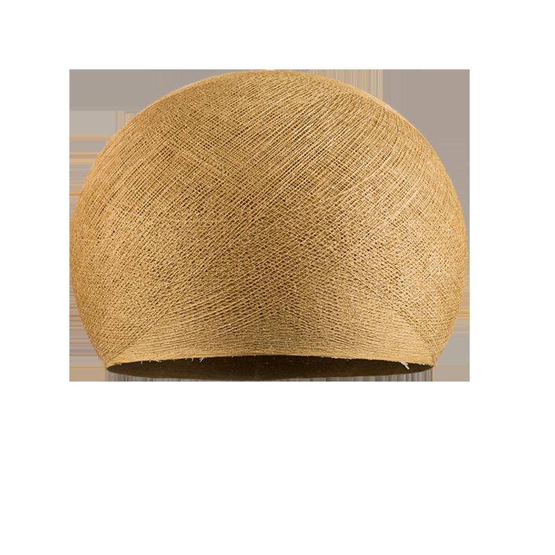 Lampenschirme Einzeln Kuppeln Maulwurfgrau - Lampenschirm kuppeln - La Case de Cousin Paul