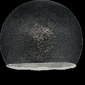 Lampenschirme Einzeln Kuppeln Schwarz - Lampenschirm kuppeln - La Case de Cousin Paul