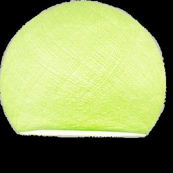 Lampenschirme Einzeln Kuppeln Mandelgrün - Lampenschirm kuppeln - La Case de Cousin Paul