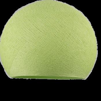 mandelgrün - Lampenschirm kuppeln - La Case de Cousin Paul