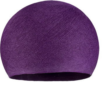 dark purple - Lampshades cupolas - La Case de Cousin Paul