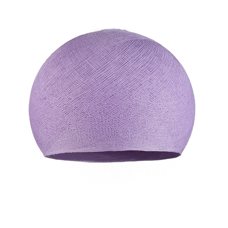 light purple - Lampshades cupolas - La Case de Cousin Paul