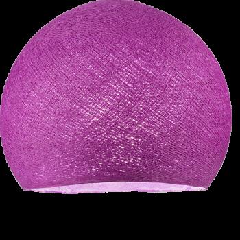 Lampenschirme Einzeln Kuppeln Kardinalviolett - Lampenschirm kuppeln - La Case de Cousin Paul