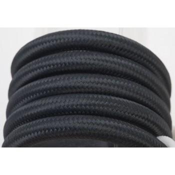 Zweifache Aufhängung mit schwarz Textilgeflechtkabel