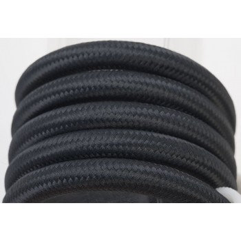 sospensione a una sfera e cavo tessile nero da 250 cm