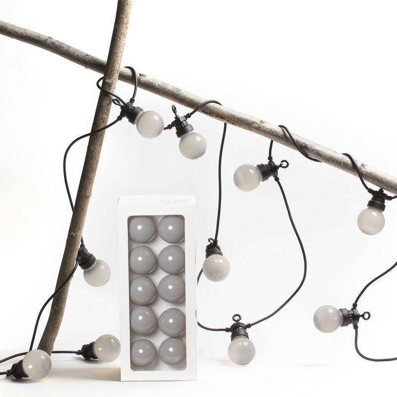coffret guirlande LED guinguette granit