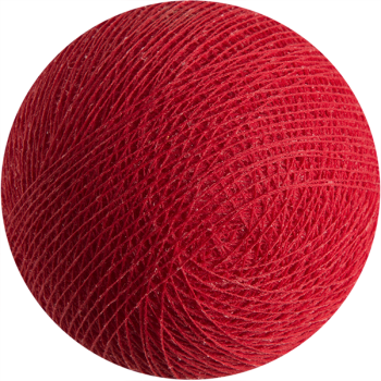 red - Premium balls - La Case de Cousin Paul