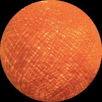 Premium Leuchtgirlande Orange - Premium Kugeln - La Case de Cousin Paul