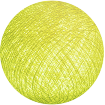 light yellow - Premium balls - La Case de Cousin Paul