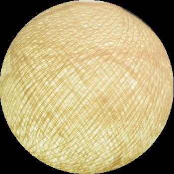 boule tissée pour guirlande Premium coquille - Boules Tissées Premium - La Case de Cousin Paul