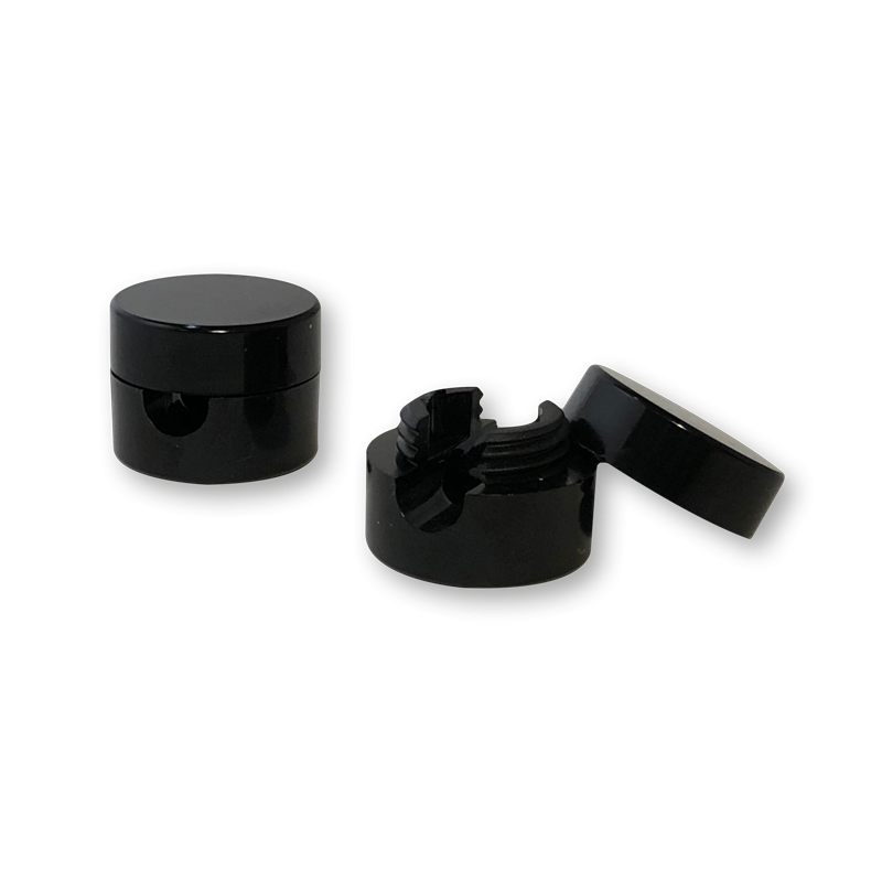 Set of 2 black universal wall mounts - Lights accessories - La Case de Cousin Paul