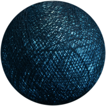 azul pato - Bolas Premium - La Case de Cousin Paul