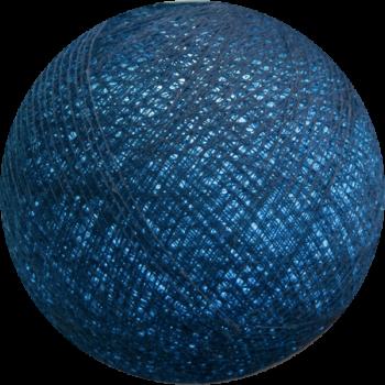 boule tissée pour guirlande Premium bleu poudré - Boules Tissées Premium - La Case de Cousin Paul
