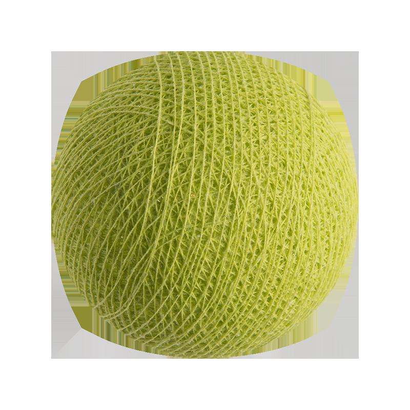 verde anís - Bolas Premium - La Case de Cousin Paul