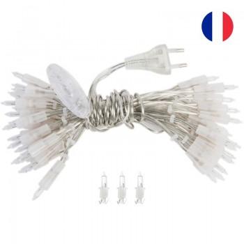 Girlanden l'Original 20 Glühbirnen transparentes Kabel CE - L'Original zubehör - La Case de Cousin Paul
