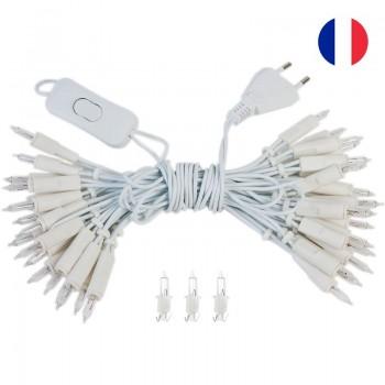 guirlande L'Original - 35 ampoules câble blanc CE - Accessoires L'Original - La Case de Cousin Paul