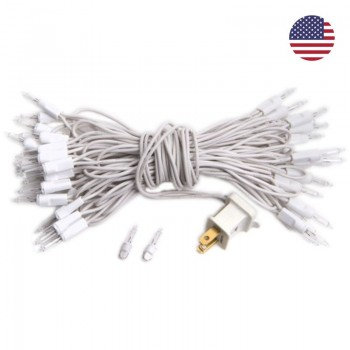 fancy light l'Original 35 light bulbs white cord, US - L'Original accessories - La Case de Cousin Paul