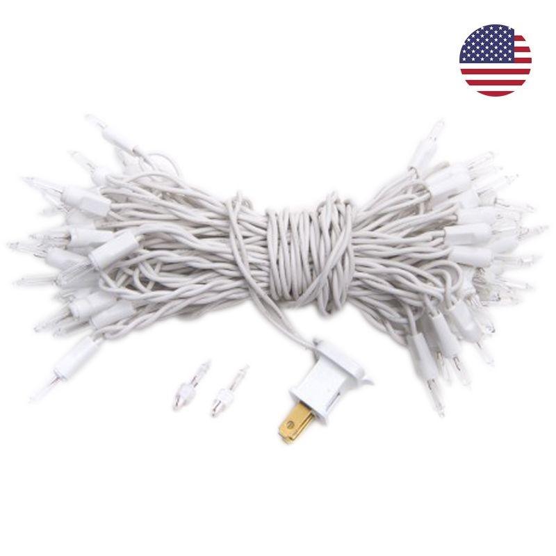 guirlande L'Original - 50 ampoules câble blanc, US - Accessoires L'Original - La Case de Cousin Paul