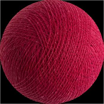 rosso fragola - Palle Premium - La Case de Cousin Paul