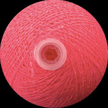 boule tissée pour guirlande Premium rose bonbon - Boules Tissées Premium - La Case de Cousin Paul