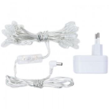 guirnalda Premium de 20 LED con cable transparente CE - Accesorios premium - La Case de Cousin Paul