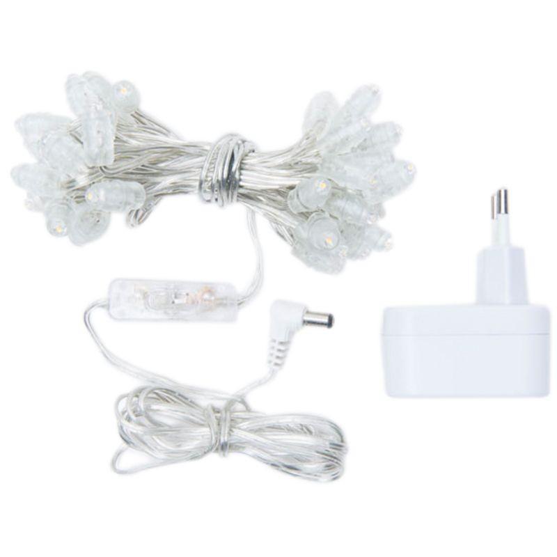 Guirlande Premium - 35 LED câble transparent CE - Accessoires Premium - La Case de Cousin Paul