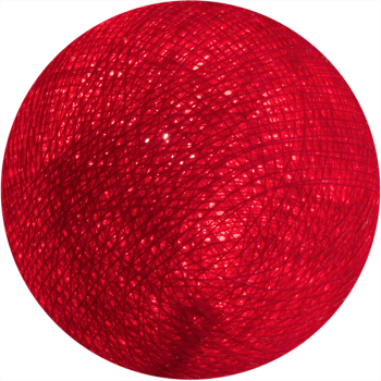 rosso - Palle l'Original - La Case de Cousin Paul