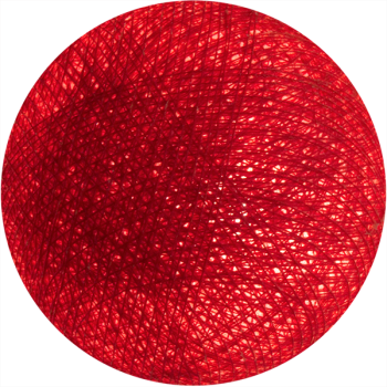 boule tissée pour guirlande lumineuse l'Original - potiron - Boules Tissées l'Original - La Case de Cousin Paul