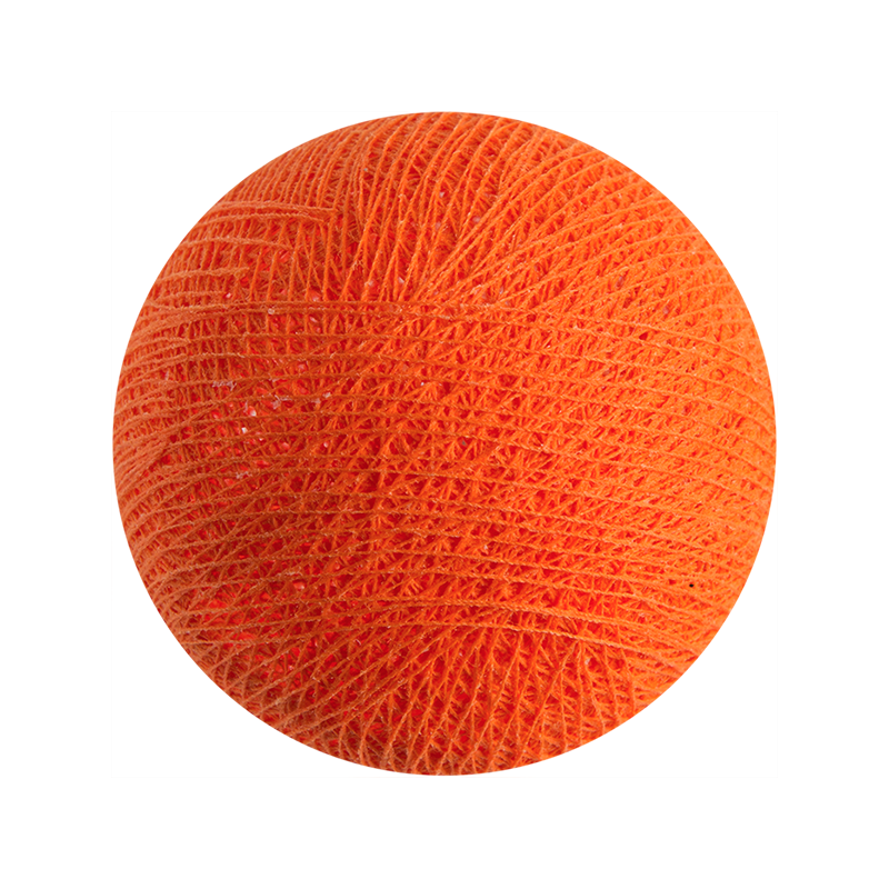 bright orange - L'Original balls - La Case de Cousin Paul